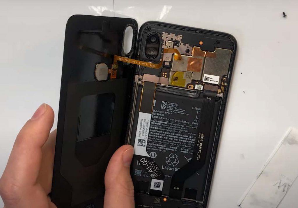 Замена батареи xiaomi redmi note 7
