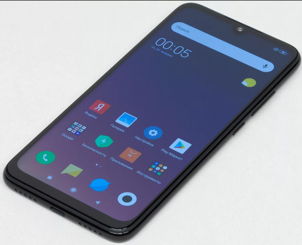 Быстро разряжающаяся батарея Xiaomi Redmi Note 7