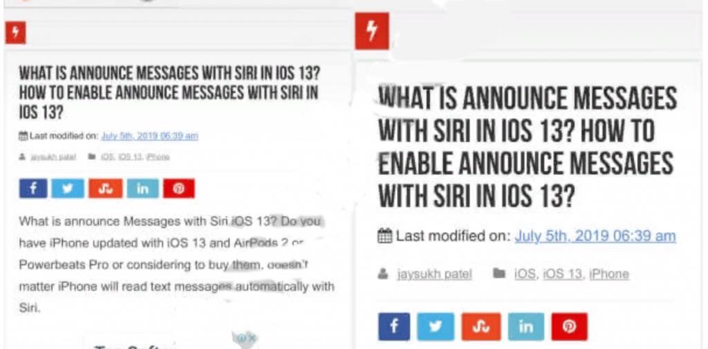 Изменить размер шрифта на странице Safari в iOS 15/14 / 13.5.1