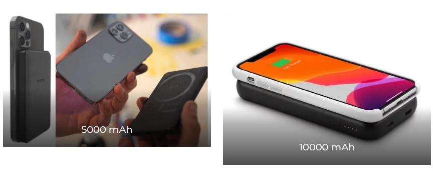 MOPHIE: ПРОЧНЫЙ ЧЕХОЛ ДЛЯ ЗАРЯДКИ ЕМКОСТЬЮ 5000 И 10000 МАЧ. - аккумуляторы для iPhone 13 Pro Max